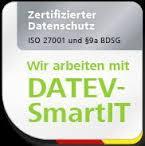 Wir nutzen für die Sicherheit Ihrer Daten ausschliesslich Datev-SmartIT